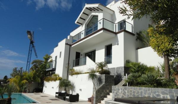 Retamar lyxiga villor med fantastisk utsikt på Costa del Sol