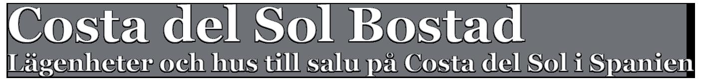 Costa del Sol Bostad Logotyp